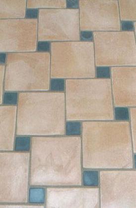 Herringbone Tile Floors { #diy #tile #thetileshop @