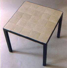 Starbuck Tile Tiled Table Tops Parsons Tables