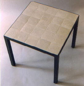 Starbuck Tile Tiled Table Tops Parsons Tables